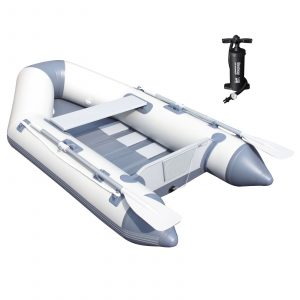 Bestway Hydro Force Caspian Pro 91 inch Inflatable 2 Person Boat Set