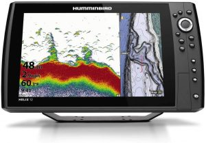 Humminbird 411430-1 Helix 12 Chirp GPS G4N Fish Finder